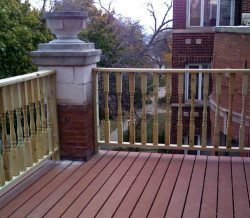 Wooden Porch Construction