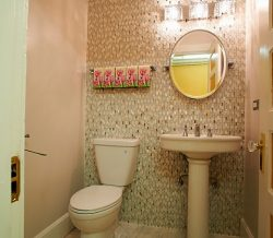 Powder Room Remodeling Project